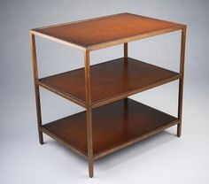 Union 116 Frank Leather Bookcase Bronzed and Gilded Metal Frame