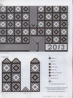 Piecework 2014 01 : Free Download, Borrow, and Streaming : Internet Archive Knitting Charts, Knitting Stitches, Hand Knitting, Knitting Patterns, Mittens Pattern, Knit Mittens, Knitted Gloves, Knitting Magazine, Knitting Accessories