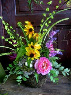 Spring arrangement   Silk Spring Arrangements