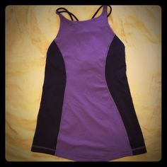 Lululemon Free To Be Tank This beautiful yoga tank has only been worn a few times and it is in great condition! It includes an adjustable bra-hook on each side. Signs of wear include a few loose threads on the internal areas as pictured and any other potential flaws are depicted. Bra cups not included (unless requested). Not interested in trades, but open to reasonable offers. From a smoke-free home. lululemon athletica Tops Tank Tops