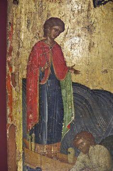 Religious Icons, Fresco, Saints, Painting, Medicine, Byzantine Art, Fresh, Painting Art, Paintings