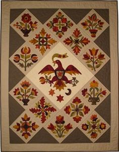 """""""Elizabeth's Pride"""" - From my heart to your hands: Quilt Designs by Lori Smith  baltimore applique"""
