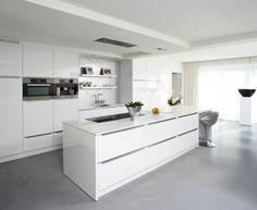 keuken gietvloer grijs mooiste - Google zoeken