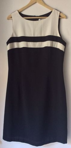 *CAREN DESIREE CO.* C.D.C Little Black Dress Evening Office Sleeveless Size 12 #CDCCARENDESIREECOMPANY #LittleBlackDress