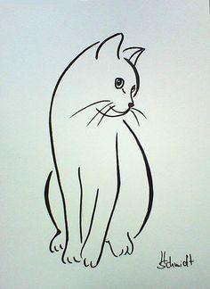 Afbeeldingsresultaat voor silhouette van twee katten