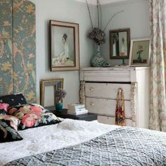 boho chic bedroom decor