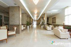 Lobby at the Hotel Mediteran