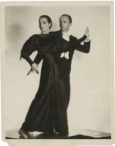 Shadowing - Graham - an unusual shot of Louise Brooks and Dario Borzani, 1935