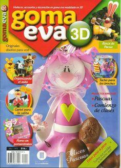 Revista Goma Eva en 3d gratis