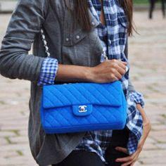 Pretty Pretty Please...#blue #chanel 2.55