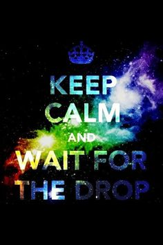 Keep calm. Party hard.