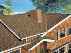 Mesa Brown #gaf #designer #roof #shingles #home