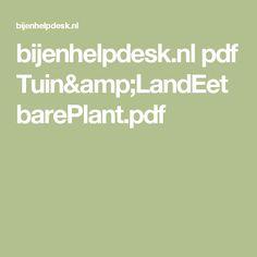 bijenhelpdesk.nl pdf Tuin&LandEetbarePlant.pdf
