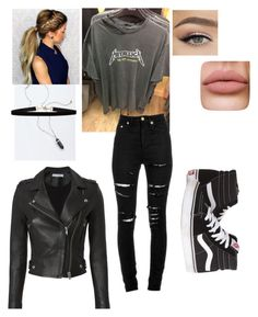 """""""Untitled #23"""" by rose-mccubbin on Polyvore featuring Yves Saint Laurent, Vans and IRO"""