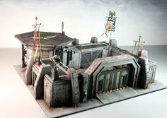 Space Marine Fighting Pit by 3T-Studios   Includes full project build steps