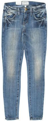 Current/Elliott Distressed Low-Rise Jeans w/ Tags Low Rise Jeans, Tags, Denim, Women, Mailing Labels, Jeans, Woman
