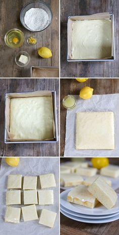 Weight Watchers-Style Gluten Free Lemon Brownies, Step by Step—Just 3 PointsPlus per serving!