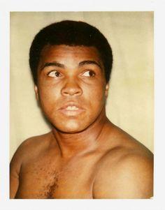 Andy Warhol's Polaroids - Muhammad Ali