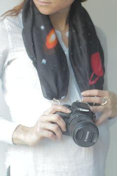 Camera Scarf - The Venus by CameraScarf on Etsy