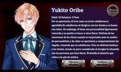Personaje Yukito Oribe - Romance en la Escuela Encantada