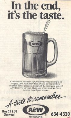 Print Ad from the 1970s