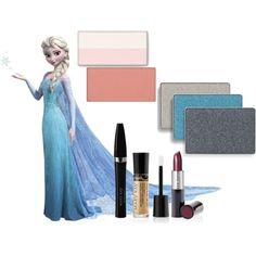 Basado en el maquillaje de Elsa ,tu princesa favorita...
