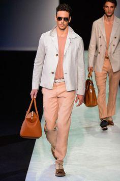 Giorgio Armani Spring 2014 Menswear