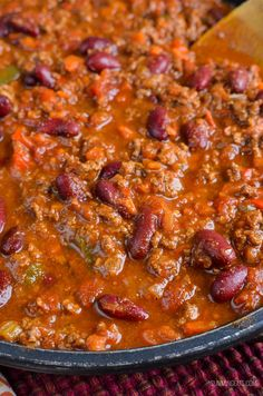 Slimming Eats Syn Free Chilli Con Carne - gluten free, dairy free, Slimming World and Weight Watchers friendly