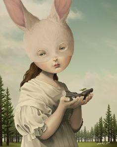 O mundo da fantasia surreal e macabra de Roby Dwi Antono ~ Pêssega d'Oro