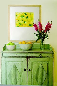 cabinet, green | Flickr - Photo Sharing!