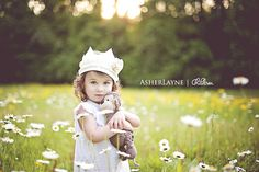Image of SHABBILY CHIC - PRE-ORDER - Fabric Crown - Cream with Pom Poms, Ruffle Ribbon & Flower