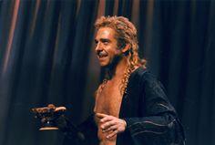 1996 - 'Troilus and Cressida' with Philip Quast as Achilles. Philip Quast, Troilus And Cressida, Stratford Upon Avon, Shakespeare Plays, Achilles, Greeks, Les Miserables, Theatre, Musicals