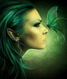 ✿Elf Fantasy World ✿ (Elves) 3d Artwork, Fantasy Artwork, Fantasy Drawings, Magical Creatures, Fantasy Creatures, Elfen Fantasy, Elf Art, Kobold, Fantasy Kunst
