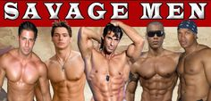 Savage Men Male Revue at Boogie Nights in Tropicana Casino and Resort Every Saturday