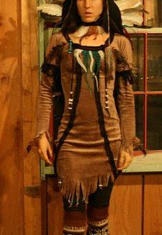 The Öko Box: EcoWeen: DIY Native American Costume