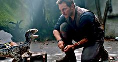 Owen Meets Baby Blue in Final Jurassic World 2 Teaser -- The final sneak peek from Jurassic World: The Fallen Kingdom arrives just hours before the big trailer launch. -- http://movieweb.com/jurassic-world-fallen-kingdom-final-teaser-baby-blue/