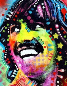 Cuadros Modernos: Pop Art, Rostros Pinturas Modernas, Dean Russo
