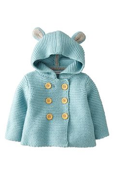 Mini Boden Hooded Jacket (Baby) available at #Nordstrom