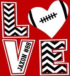 Chevron LOVE T-Shirt, Football mom shirt, Baseball mom, football mom, soccer mom… Football Girlfriend, Football Mom Shirts, Football Cheer, Football Love, Cheer Shirts, Basketball Mom, Team Shirts, Sports Shirts, Football Players