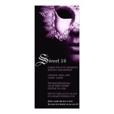 Purple Black Sweet 16 Masquerade Party Invitations lowest price for you. In addition you can compare price with another store and read helpful reviews. BuyHow to          Purple Black Sweet 16 Masquerade Party Invitations today easy to Shops & Purchase Online - transferred directly s...