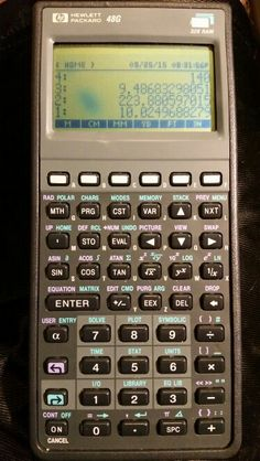 HP 48G RPN graphing scientific calculator
