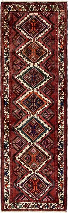 Red Chenar Area Rug
