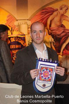 Prince Jorge Rurikovich received Honorific Badge at Lions Club International, Puerto Banus, Marbella, Spain