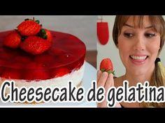 Receita de Cheesecake de gelatina com morango passo-a-passo. Acesse e confira todos os ingredientes e como preparar essa deliciosa receita! Mouse Cake, Cheesecake Recipes, Coco, Food And Drink, Pudding, Make It Yourself, Cream, Cooking, Sweet