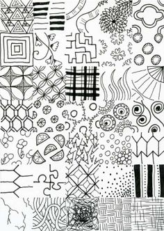 how to doodle art - Zentangle like - zentangle inspired - zentangle patterns - #zentangle #doodleart