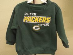 Girl's Youth Green Bay Packers Gray Amethyst Fleece Crew Neck Sweatshirt