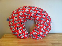 Baby New England Patriots Football  with by SarahJoyceDesigns, $22.00