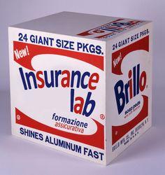 Andy Warhol - Brillo Insurance Lab Box