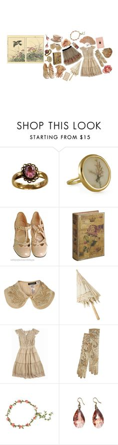 """Untitled #1523"" by flapper-shoes ❤ liked on Polyvore featuring Melissa Joy Manning, Pier 1 Imports, Derercuny and Brighton"