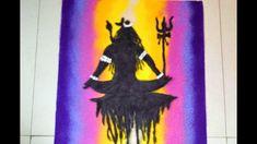 Mahashivratri Special Rangoli Design || Shiva Rangoli Shiva, Poster Rangoli, Special Rangoli, Rangoli Designs Diwali, Ganesh, Superhero Logos, Folk Art, Batman, Draw